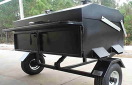 GrillMan Grills - Handmade Barbecue Grills - Pig Cookers